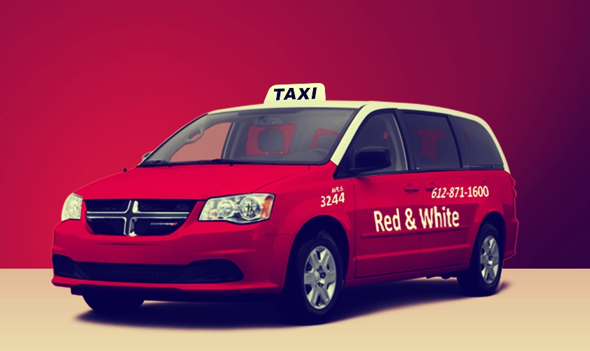 Red White Taxi